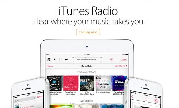 iTunes Radio é um serviço completo de streaming (Foto: Divulgação) (Foto: iTunes Radio é um serviço completo de streaming (Foto: Divulgação))