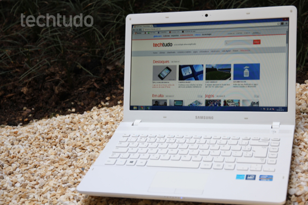 Samsung ATIV Book 2 é o modelo mais simples da nova família ATIV  (Foto: TechTudo/Anna Kellen)