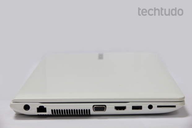 Com boa conectividade, modelo peca com a falta de uma entrada USB 3.0 (Foto: TechTudo/Anna Kellen)