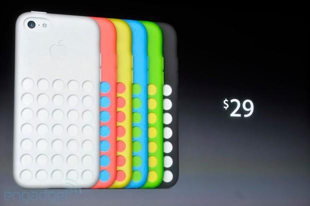 5C fica ainda mais colorido com capas (Foto: Reprodução/Engadget)