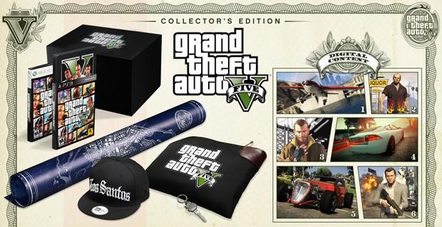 Edição de colecionador de GTA 5 (Foto: Divulgação)