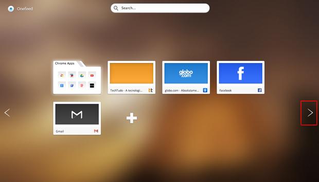Acessando o Feed criado pelo OneFeed no Google Chrome (Foto: Reprodução/Marvin Costa)