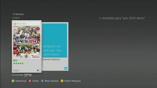 PES já está disponível no Xbox 360 (Foto: Reprodução)