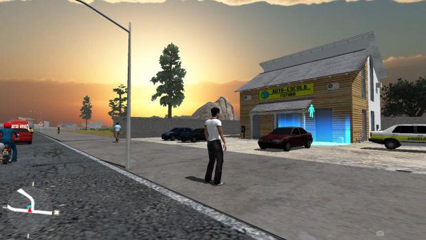 VRUM é um jogo educativo inspirado em GTA (Foto: Divulgação)