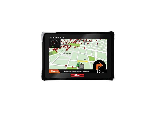 Aquarius tem GPS com marca Quatro Rodas (Foto: Divulgação)