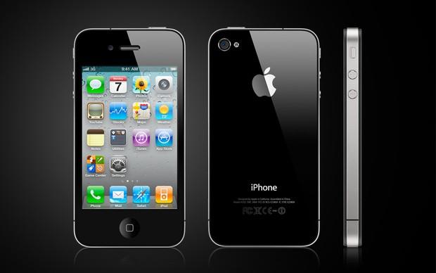 Excelente trabalho de design do iPhone 4 ainda chamam a atenção (foto: Divulgação)