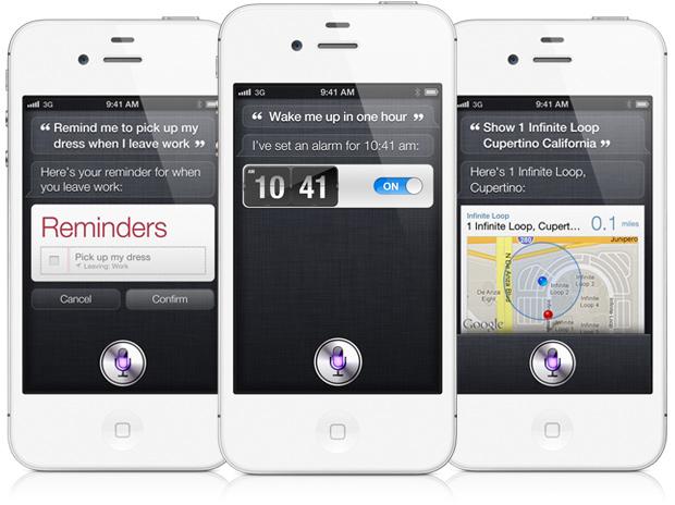 Siri é o grande atrativo do iPhone 4S (Foto: Divulgação)