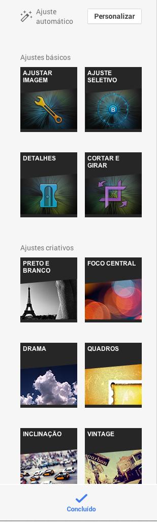 Google+ adiciona novas ferramentas de edição de fotos do Snapseed (Foto: Reprodução/Google+)