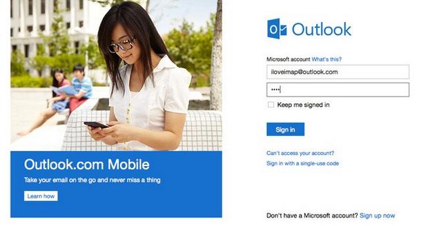 Serviço da Microsoft agora tem suporte ao IMAP (Foto: Reprodução/Engadget)