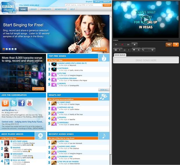 The Karaoke Channel (Foto: Reprodução)