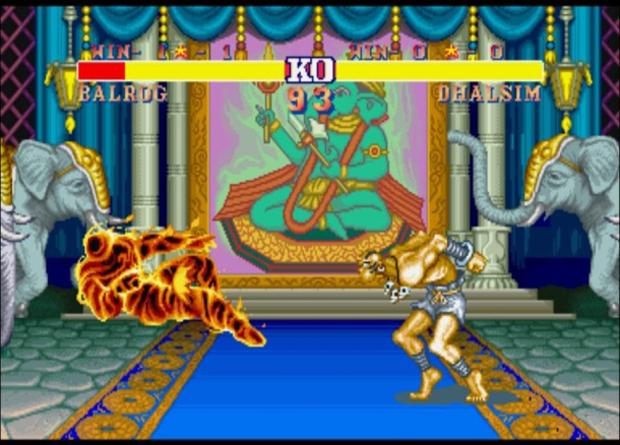 Um glitch em Street Fighter II criou os combos em jogos de luta (foto: Divulgação)