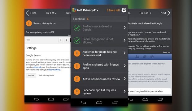 Melhore a sua privacidade nas redes sociais com AVG PrivacyFix (Foto: Divulgação)
