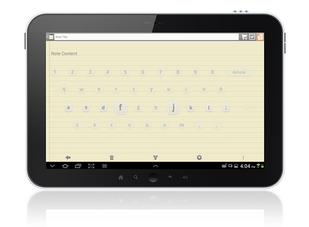 Layout do teclado Dryft (Foto: Reprodução)