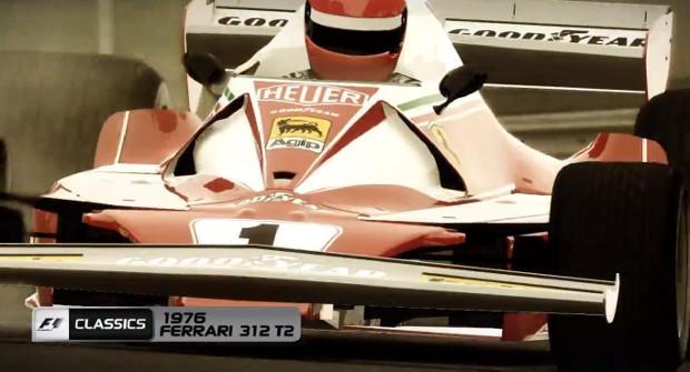 F1 2103: como jogar com a Ferrari clássica de 1976 de Niki Lauda F1-2013-ferrari-lauda_