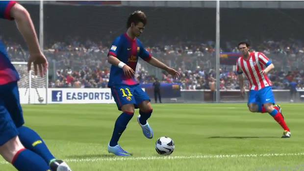 Neymar demonstra seus dribles em vídeo de Fifa 14 (Foto: facebook.com) (Foto: Neymar demonstra seus dribles em vídeo de Fifa 14 (Foto: facebook.com))