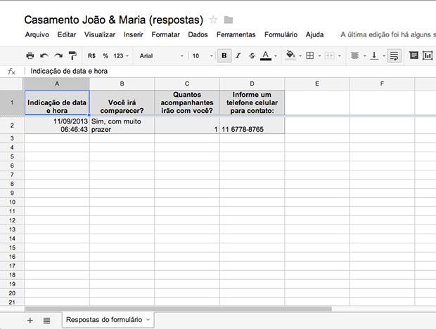 Planilha com a tabulação dos resultados (Foto: Reprodução/João Paulo Carrara) (Foto: Planilha com a tabulação dos resultados (Foto: Reprodução/João Paulo Carrara))
