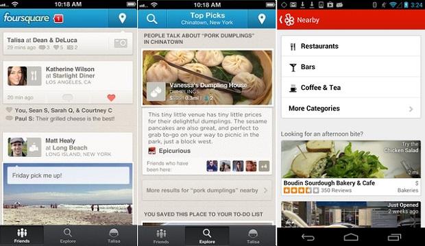 Foursquare e Yelp podem ajudar (Foto: Divulgação)