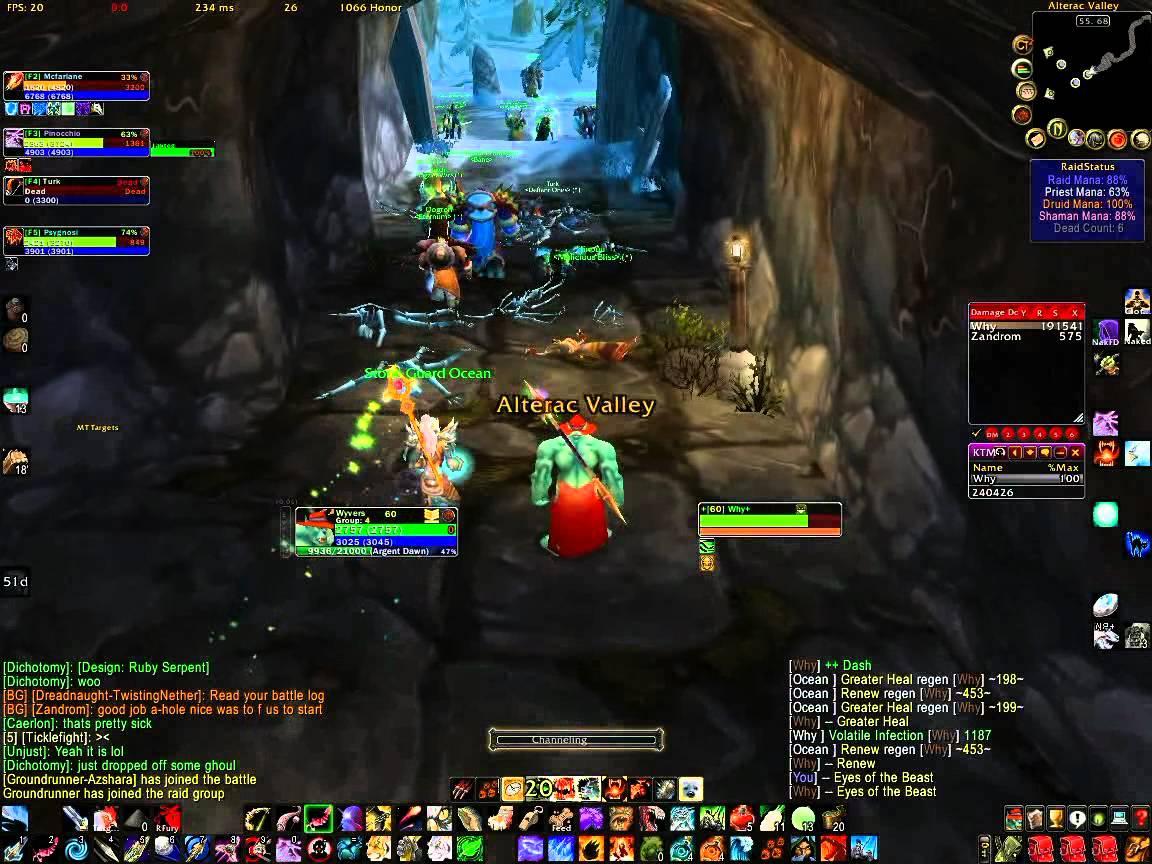 Bug do Volatile - World of Warcraft (Foto: Reprodução)