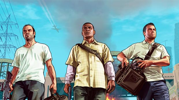 Personagens de GTA V chegarão com características distintas. (Foto: Divulgação)