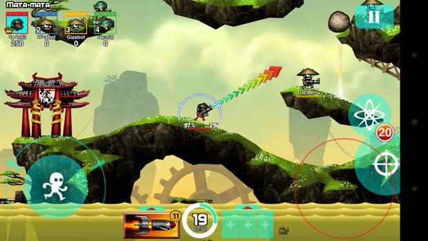 Blastron faz o jogador matar a saudade de Gunbound (Foto: Divulgação) (Foto: Blastron faz o jogador matar a saudade de Gunbound (Foto: Divulgação))