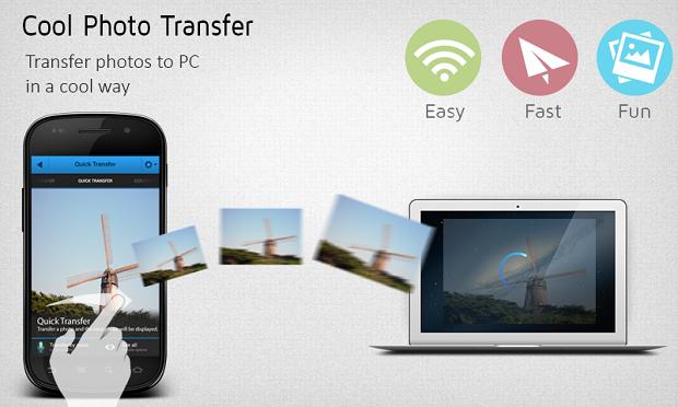 Cool Photo Transfer é um aplicativo que transfere fotos do celular para o PC (Foto: Reprodução)
