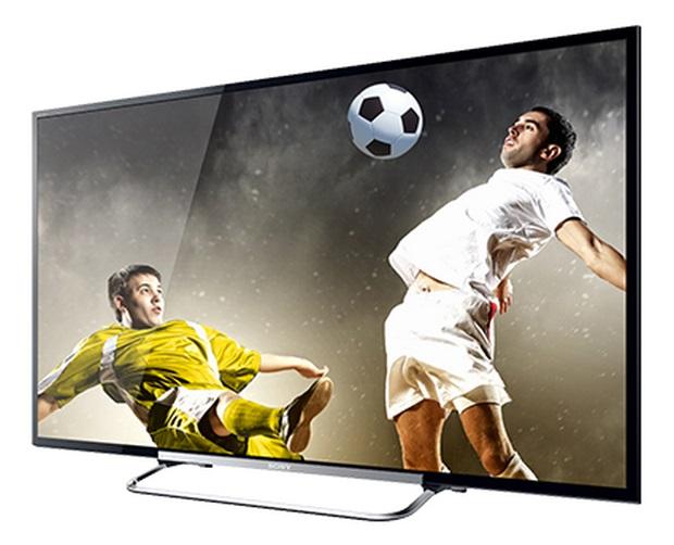 Linha KDL-R555A, da Sony, tem telas de 50, 60 e 70 polegadas (Foto: Divulgação/Sony Brasil)