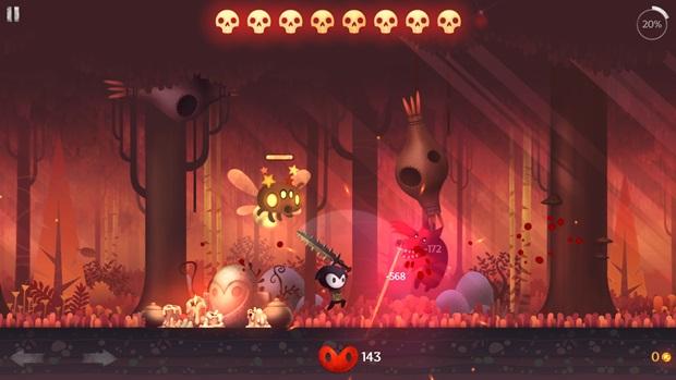 Reaper é um jogo em 2D com um visual muito bonito (Foto: Divulgação) (Foto: Reaper é um jogo em 2D com um visual muito bonito (Foto: Divulgação))