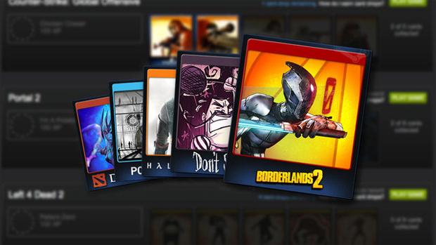 O Steam Trading Cards é um sistema que permite vender por dinheiro real (Foto: Divulgação)