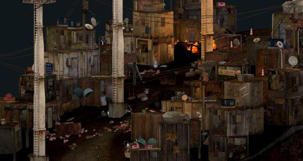 Favela Wars, game que é divulgado por Paula Neves (Foto: Divulgação)