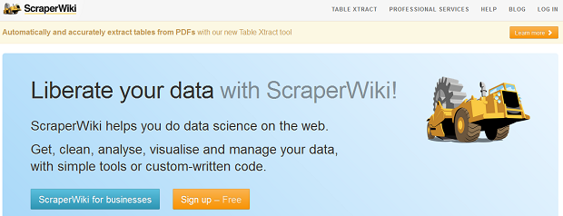 ScraperWiki pode ser serviço bem útil para internautas (Foto: Divulgação)