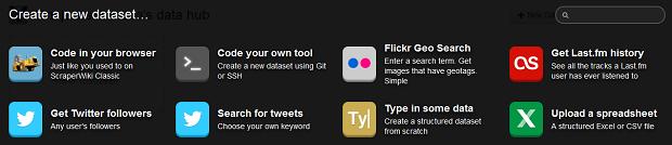 ScraperWiki oferece uma série de possibilidades (Foto: Divulgação)