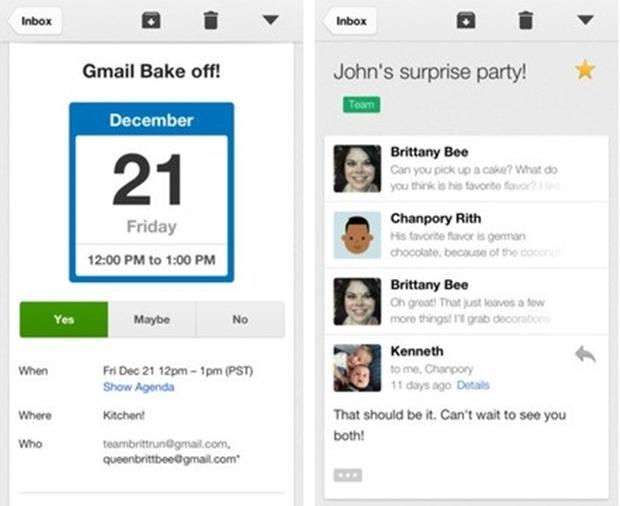 Gmail para iOS (Foto: Divulgação/Google)