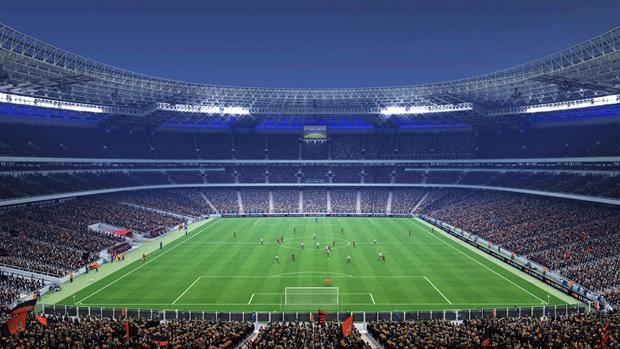 Outro novo estádio é a Donbass Arena na Ucrânia (Foto: Divulgação)