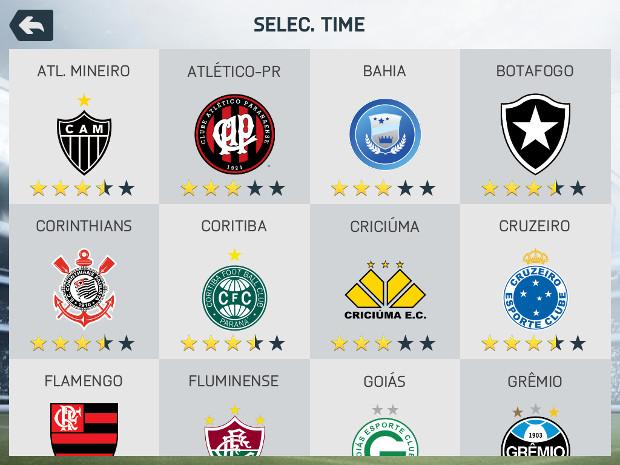 Nomes de clubes corretos é um dos diferenciais de FIFA 14 frente aos concorrentes (Foto: Reprodução / Dario Coutinho)