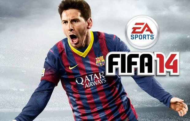 Não podia faltar o craque Messi no FIFA 14 para iOS e Android (Foto: Reprodução / Dario Coutinho)