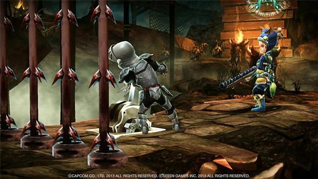 O cavaleiro Arthur está de volta para mais uma aventura em Ghost'n Goblins Online (Foto: Capcom/Divulgação)