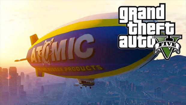 Dirigível Atomic Blimp foi dado como bônus para pré-venda, confira como acessá-lo (Foto: youtube.com)
