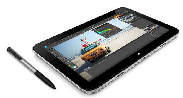 O híbrido da HP tem uma caneta para desenho e escrita. Os conectores são magnéticos para permitir acoplamento perfeito e evitar acidentes (Foto:   Divulgação)