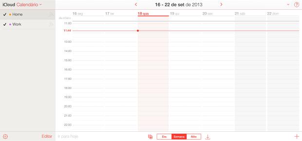 Calendário é uma espécie de planilha de afazeres (Foto: Reprodução/Thiago Barros)