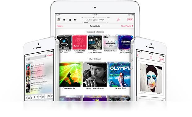Itunes Radio pode ser acessado de vários dispositivos a partir de uma única conta (Foto: Divulgação)