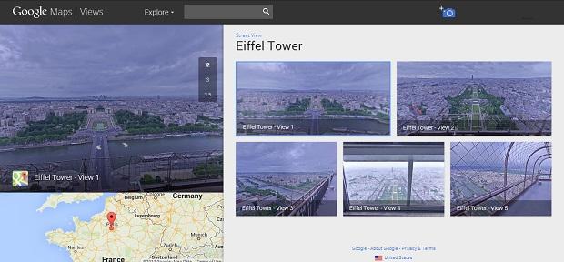 Torre Eiffel pode ser vista de múltiplos ângulos (Foto: Divulgação)