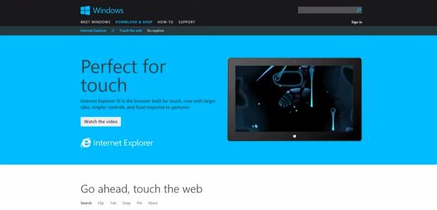 IE 11 chega em versão preview ao Windows 7 (Foto: Divulgação)