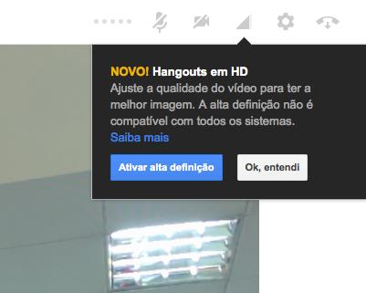 Novo Hangouts HD já está disponível para todos os usuários do Google+ (Foto: Reprodu/Google)