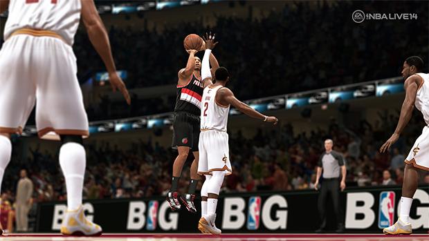Primeira imagem de gameplay de NBA Live 14 impressiona pelo realismo (Foto: Divulgação)