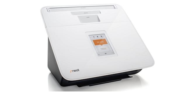 NeatConnect, scanner touchscreen que envia arquivos para a nuvem. (Imagem: Divulgação)