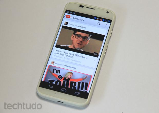 Aplicativo do YouTube para Android e iOS ganhará reprodução offline em breve (Foto: Elson de Souza/TechTudo)