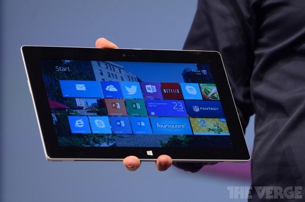 Surface novo tem muitas melhorias no desempenho (Foto: Reprodução/The Verge)