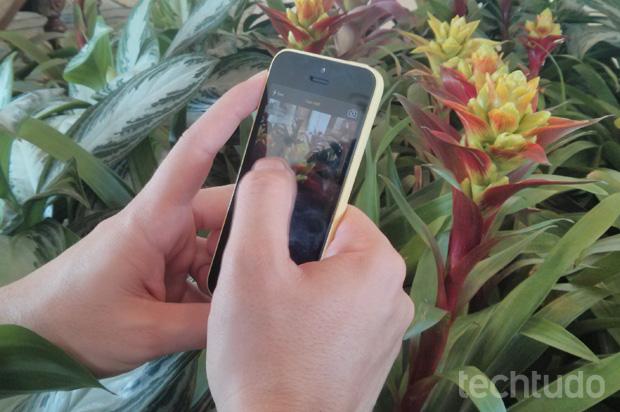 Câmera do iPhone 5C faz um bom trabalho na captura de imagens (Foto: Isadora Díaz / TechTudo)