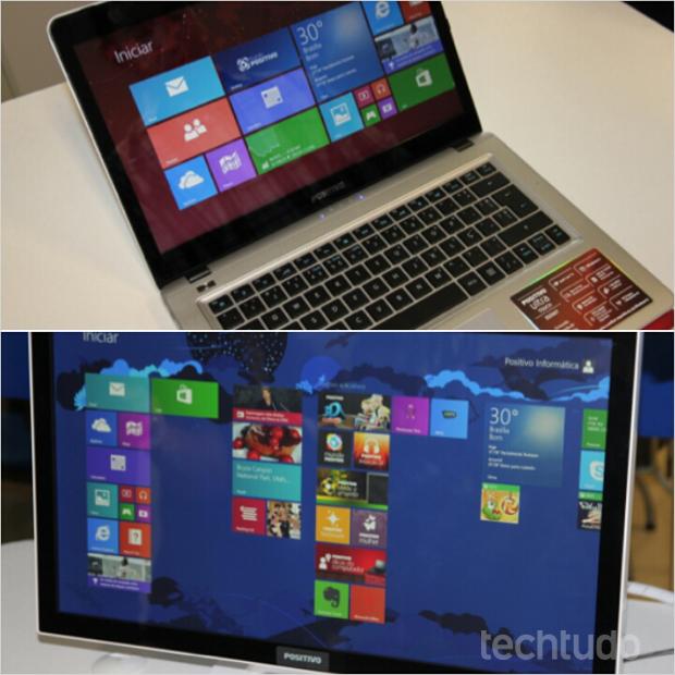 Novos Ultrabooks e All-in-one já chegam com o novo Windows 8.1 e processadores de terceira geração da Intel (Foto: TechTudo/Rodrigo Bastos)