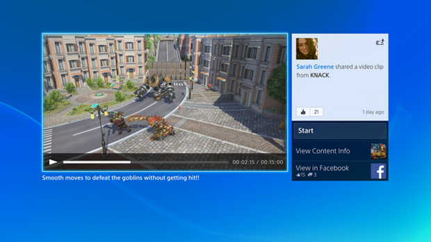 PlayStation 4: Sony divulga fotos inéditas da interface do console Playstation-4-ps4-interface-1-knack